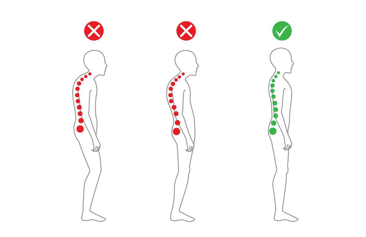 5 consigli utili per una postura corretta
